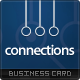 Connections Business Card - GraphicRiver Item for Sale