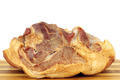smoked ham on white background - PhotoDune Item for Sale