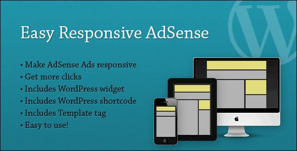 CodeCanyon Easy Responsive AdSense 4489695