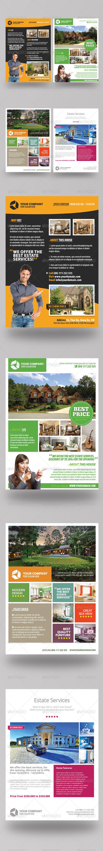 GraphicRiver Premium Estate Flyers 4489699
