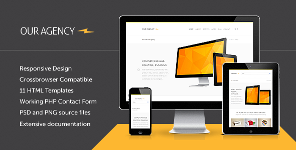 Our Agency - Responsive Portfolio HTML Template