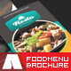 Restaurant and Food Menu Trifold Brochure - GraphicRiver Item for Sale