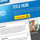 Clean Business Email Newsletter Template  - GraphicRiver Item for Sale