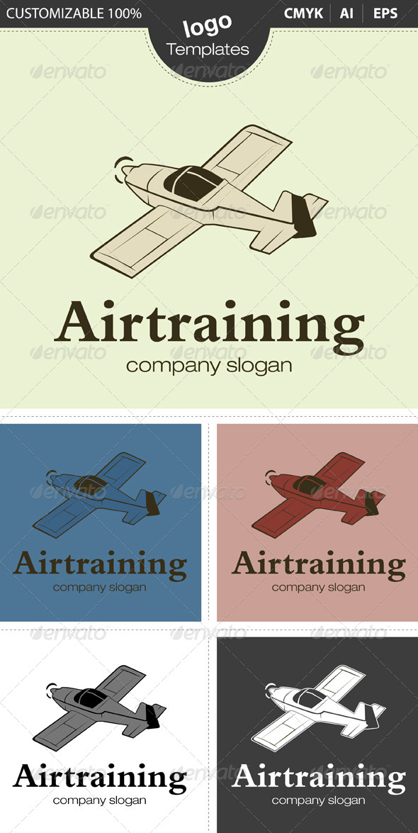 GraphicRiver Airtraining Logo 4491447