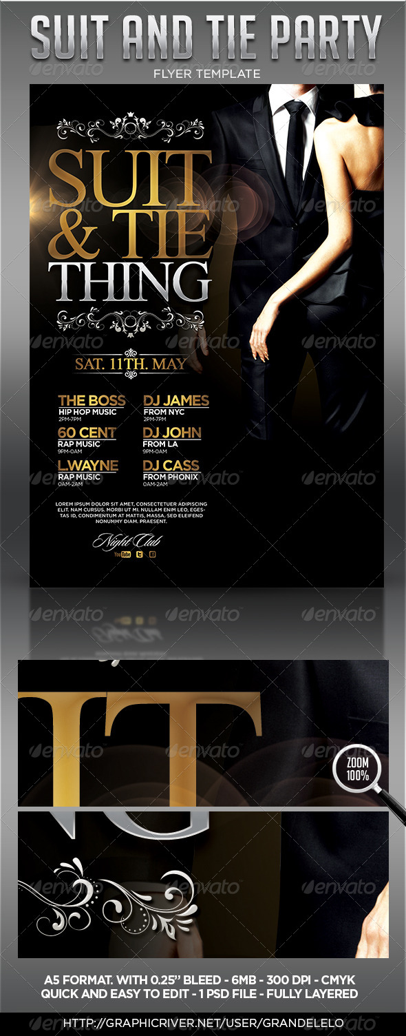 GraphicRiver Suit and Tie 4491452