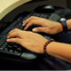 Typing Keyboard On The Office Desk - VideoHive Item for Sale