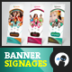 My Ice Cream Store - Banner Signage 2 - GraphicRiver Item for Sale