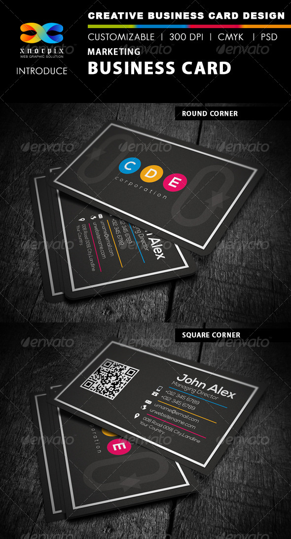 GraphicRiver Marketing Business Card 4493132