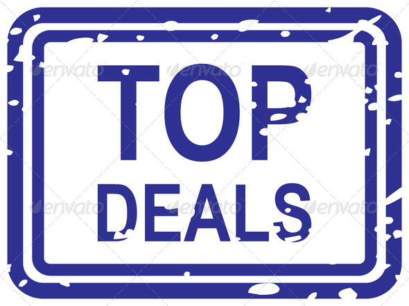 Top Deals Rubber Stamp - Stock Photo - Images