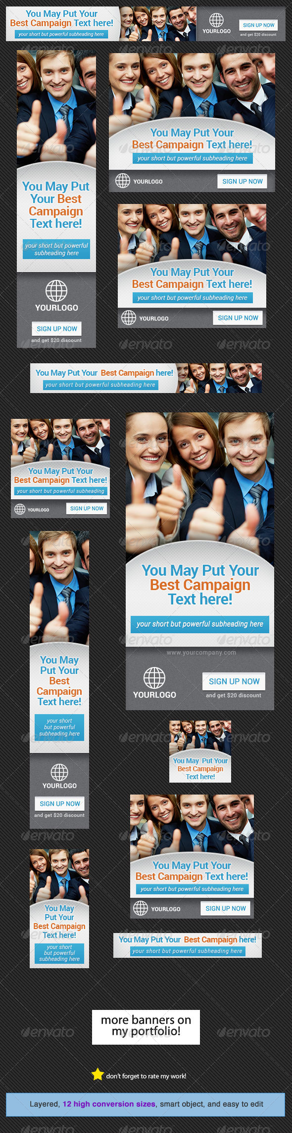 GraphicRiver Corporate Banner Design Template 9 4493500
