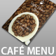 Elegant Coffee House Menu - GraphicRiver Item for Sale