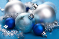 blue christmas decoration - PhotoDune Item for Sale