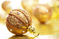 golden christmas ball - PhotoDune Item for Sale