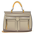 gray ladies handbag - PhotoDune Item for Sale