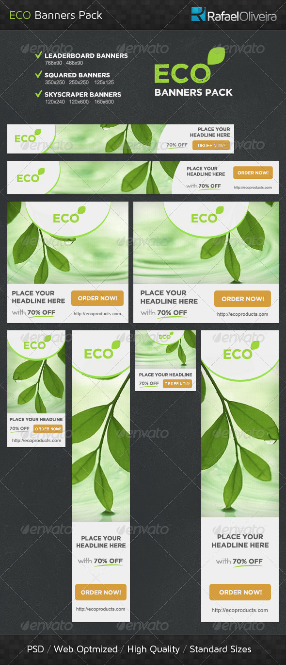 GraphicRiver Eco Banners Pack 4494997