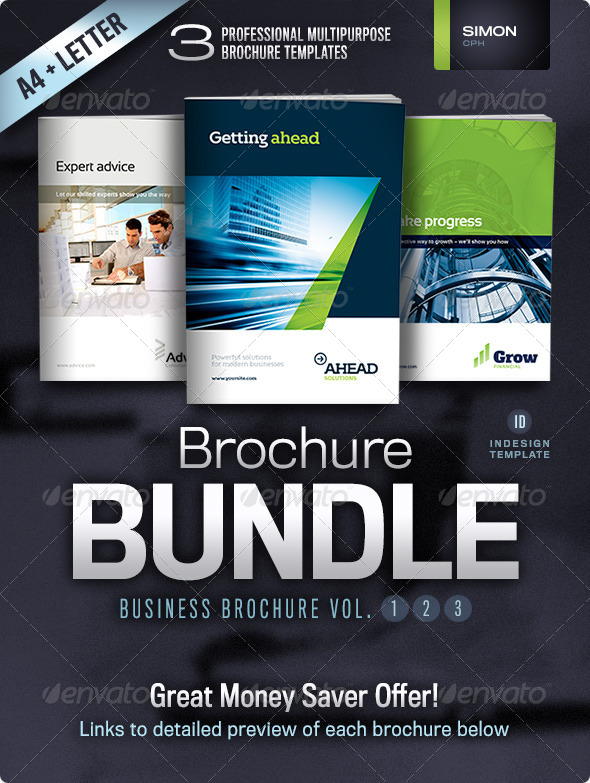 GraphicRiver Business Brochure Bundle Vol 1-2-3 4495239
