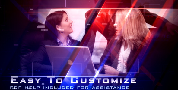 After Effects Project - VideoHive Corporate Glass 476112