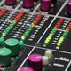 Audio Levels on Mixer - VideoHive Item for Sale