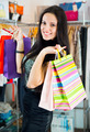 Young pretty brunette shopping - PhotoDune Item for Sale