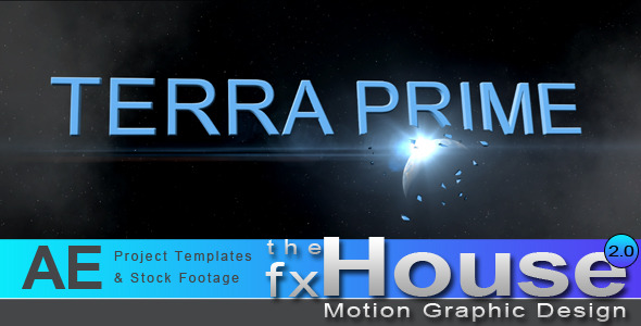 After Effects Project - VideoHive Terra Prime 476198