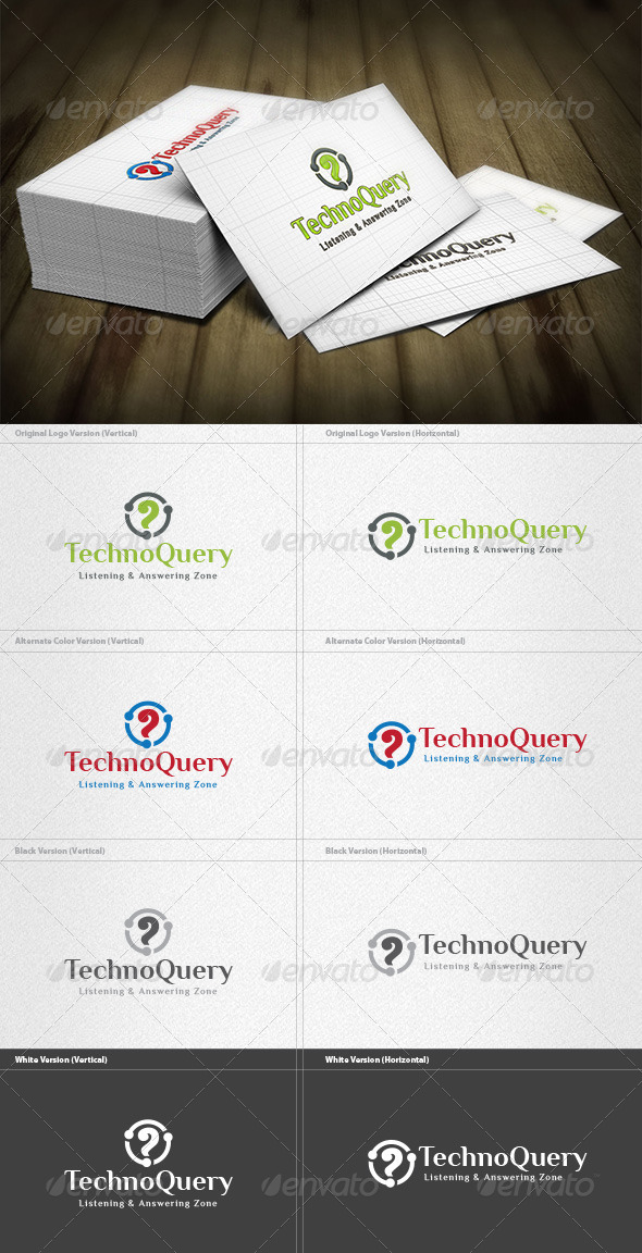 GraphicRiver Techno Query Logo 4496720
