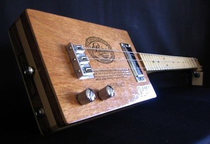 Cigar Box Guitar and Slide Guitar