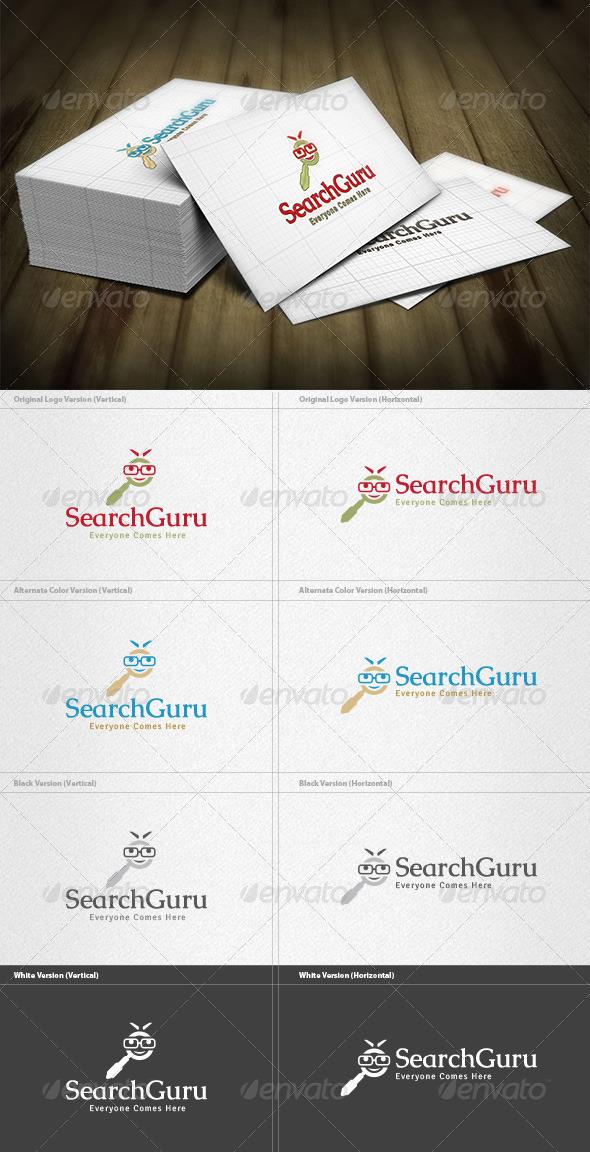 GraphicRiver Search Guru Logo 4497090
