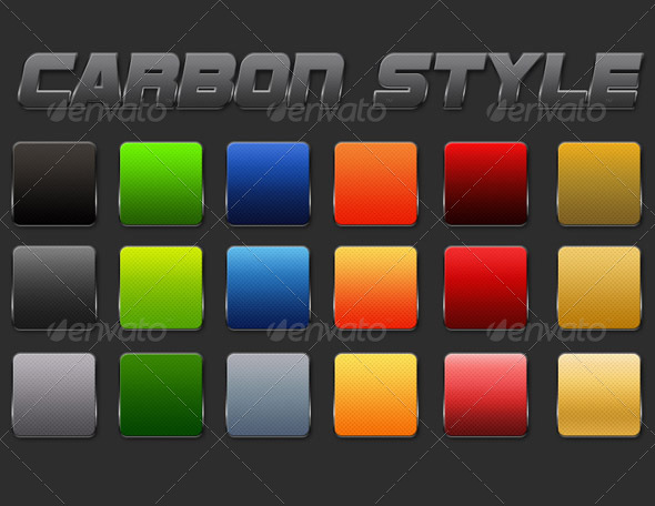 GraphicRiver Carbon Style 4497316