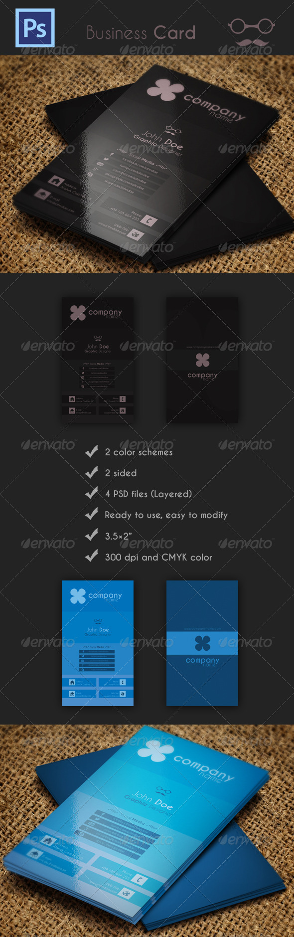 GraphicRiver Business Card 4497542