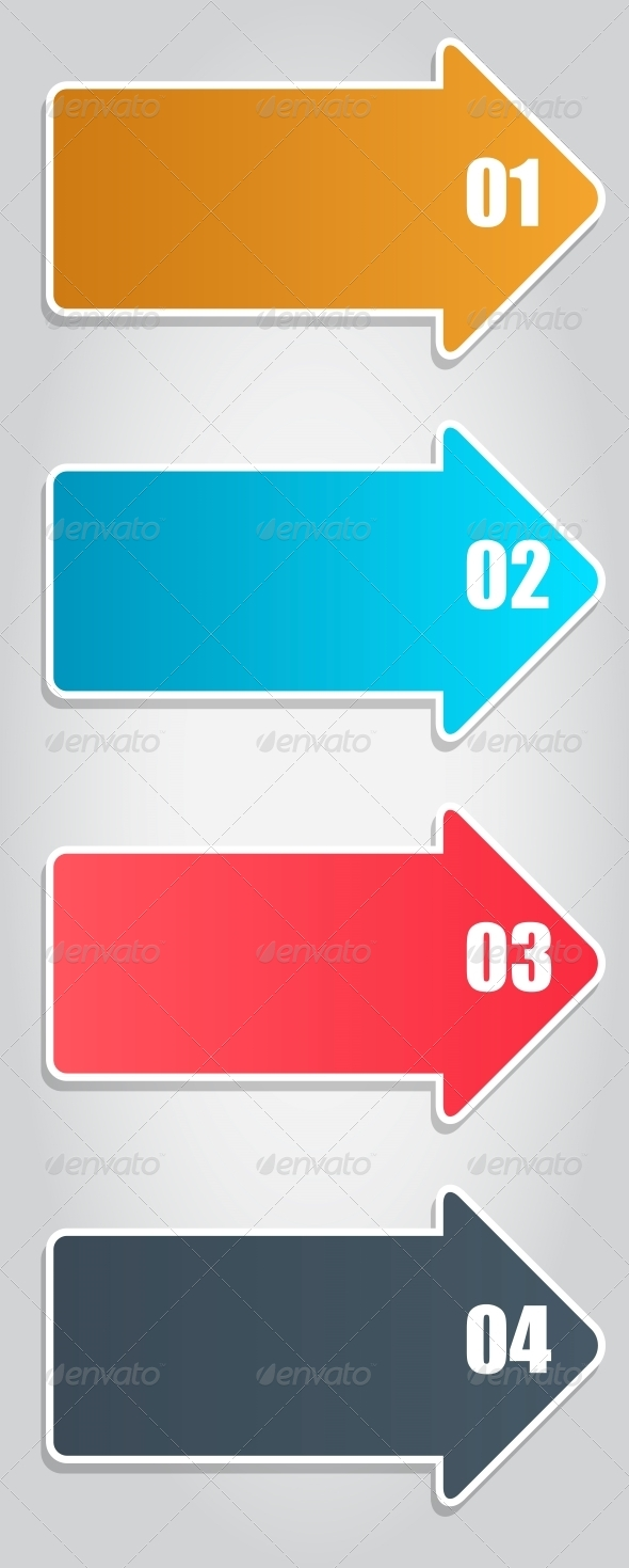 GraphicRiver Infographic Arrows 4498266