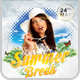 Spring Summer Break Flyer Template - GraphicRiver Item for Sale