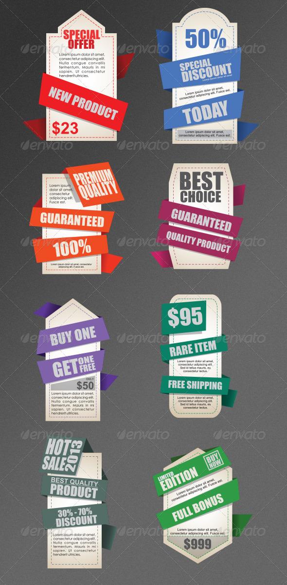 GraphicRiver Label Templates Version 2 4500670