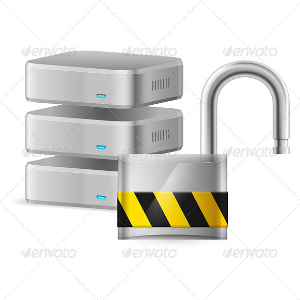GraphicRiver Computer Security Concept 4500780