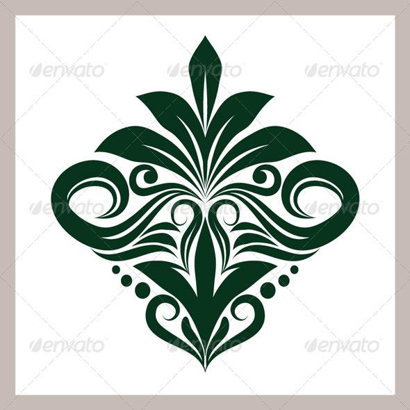 GraphicRiver Green Ornament 4500798