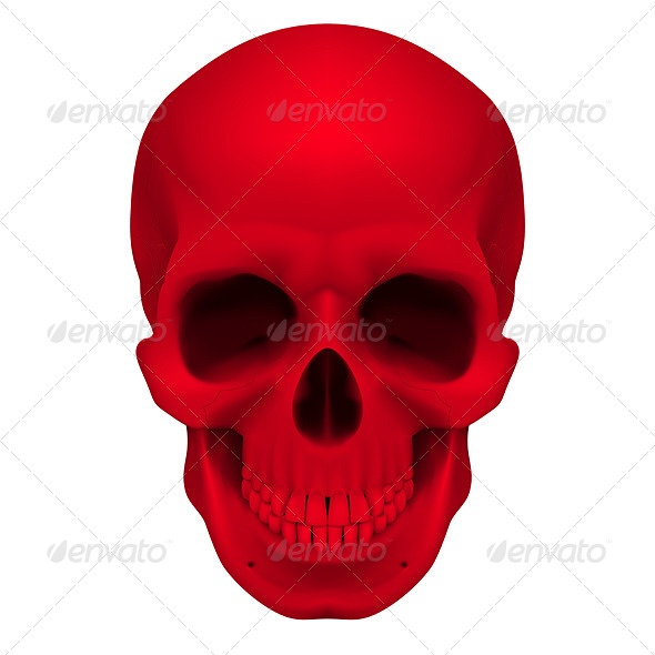 GraphicRiver Red Skull 4500810