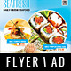 Seafood Flyer / Magazine AD - GraphicRiver Item for Sale