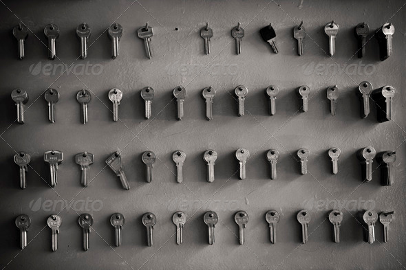Keys 2 - Stock Photo - Images