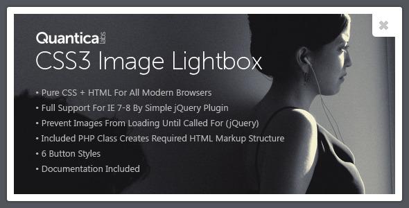 CodeCanyon CSS3 Image Lightbox 477268