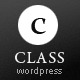 Class - Premium Business, Blogging &amp;amp; Portfolio - ThemeForest Item for Sale