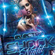 Electro Shock Night Flyer Template - GraphicRiver Item for Sale