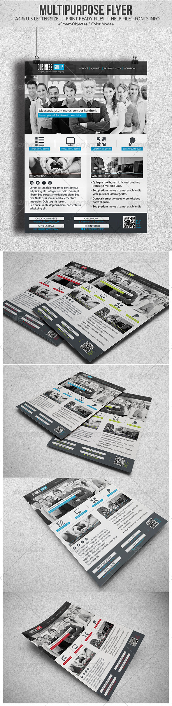 GraphicRiver Multipurpose Flyer 4421111