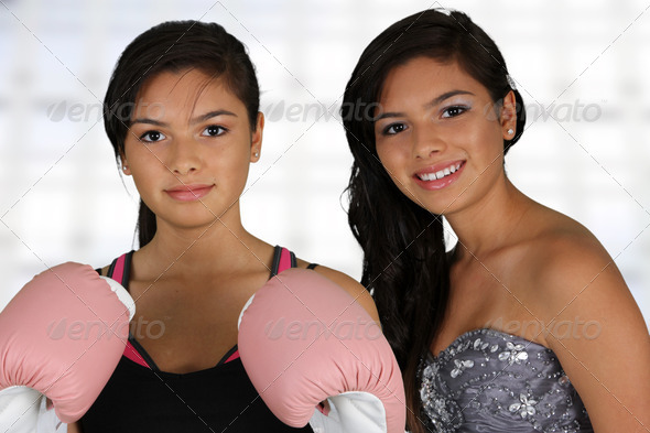 Teenager Workout and Prom - Stock Photo - Images