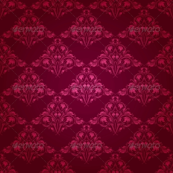 GraphicRiver Damask Seamless Floral Pattern 4507779