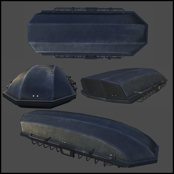 3DOcean Roof Cargo Carrier 4508615