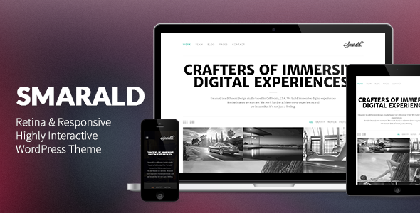 Smarald: Retina Ready Responsive WordPress Theme