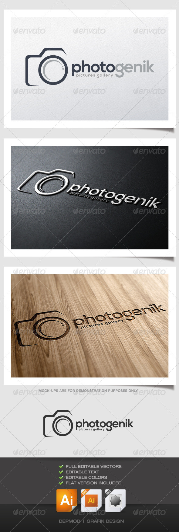 GraphicRiver Photogenik Logo 4508902