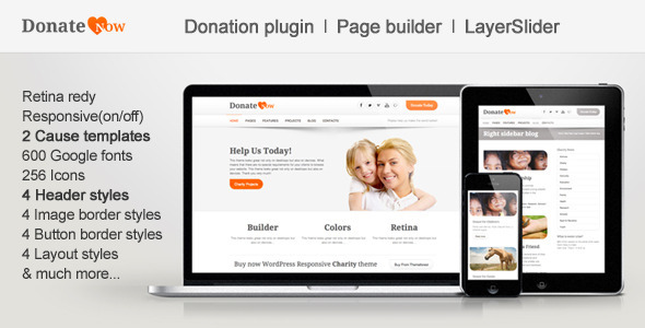 DonateNow | WordPress Theme for Charity - Charity Nonprofit