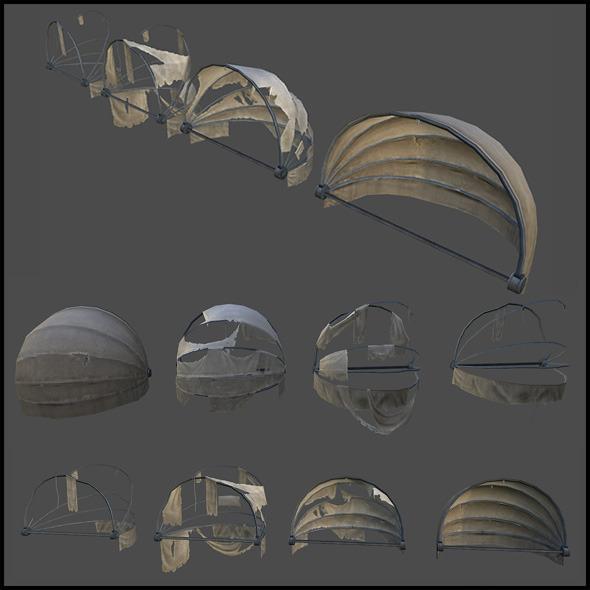 3DOcean Round Awning 4509116