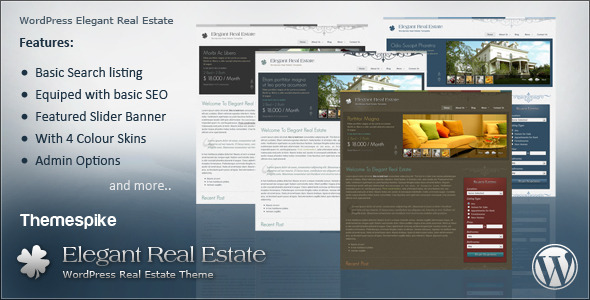 Elegant Real Estate - Corporate WordPress