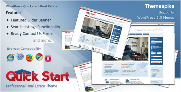 Quickstart Real Estate - Business Corporate